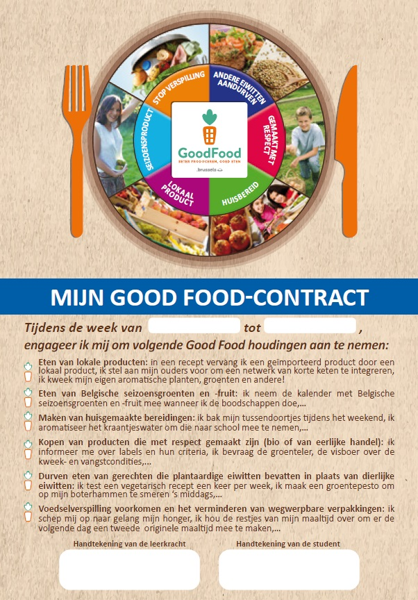 Game of Food : Engagementscontract